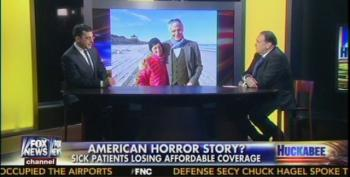 """Huckabee Promotes Another Obamacare """"Victim"""""""