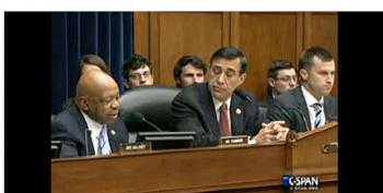 Darrell Issa Cuts Off Mic Of Rep. Cummings Who Was Exposing IRS Hearing As Fraud