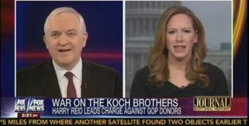 Fox Pundits Continue Carrying Water For The Koch Brothers