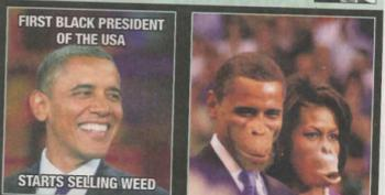 This Racist Picture Depicting Obama And The First Lady As Apes Was Published In Belgian Paper