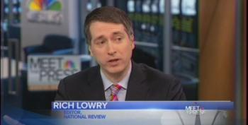Rich Lowry Pretends Republicans Have A New Alternative To Obamacare