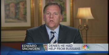Rep. Mike Rogers Blames Snowden For Putin's Aggression In Crimea