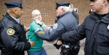 Pipeline Protesters Arrested At Philadelphia Federal Building