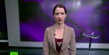 Russia Today Anchor Condemns Russian Invasion Of Crimea