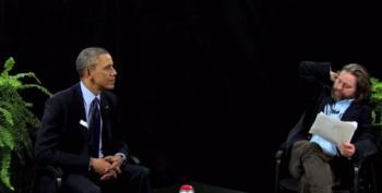 Obama's Funny Or Die Interview Gives Right-Wingers Heartburn