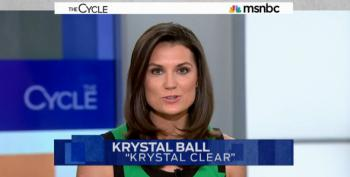 Krystal Ball Hammers Republicans And Corporate Dems