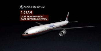 UPDATED - New Theory: Malaysian Jet Intentionally Flown Off-Course