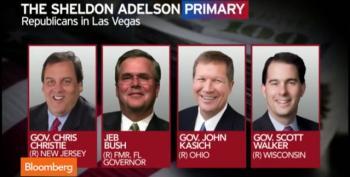 Christie, Walker, Kasich, Bush: Sheldon Adelson's Toadies
