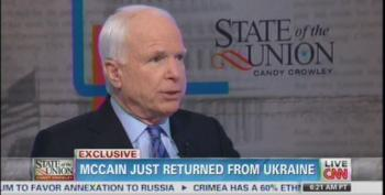 McCain: 'Russia Is A Gas Station Masquerading As A Country'