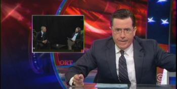 Colbert Skews Right Wing Outrage Over Obama's Funny Or Die Interview
