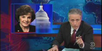 Jon Stewart Calls Out DiFi's Hypocrisy Over CIA Scandal