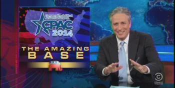 Jon Stewart On CPAC: 'Burning Man For People Who Don't Do Drugs And Are Afraid Of Fire'