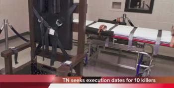 New Law Allows Tennessee To Plan Record Number Of Executions In Secret