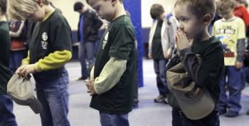 New Right-Wing Hate Scouts Despise Gays, Have Special Salute!