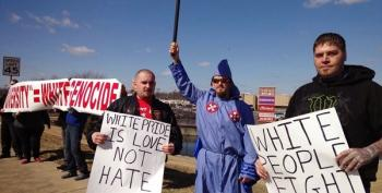 'White Man's March' Events Draw Smattering Of Participants, Loads Of Derision