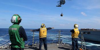 MH370 Searchers Detect 'Promising' Acoustic Lead