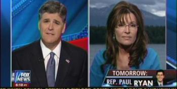 Hannity Gallantly Defends Palin's Torture-As-Baptism Remarks