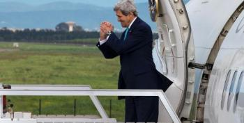 Russians Sent To Foment 'Chaos' In East Ukraine: Kerry