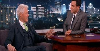 Bill Clinton To Jimmy Kimmel: 'If There Were Aliens, I Would Tell You'