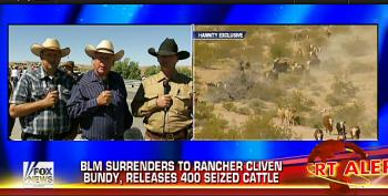 Nevada Rancher Cliven Bundy Wants To Disarm All 'Federal Bureaucrats'