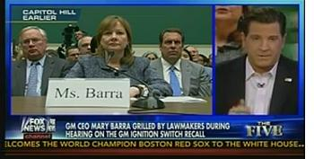 Eric Bolling Claims Obama Bankrupted GM To Save It From Defective Ignition Scandal