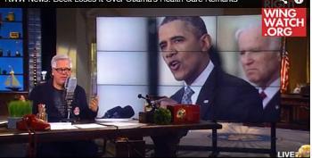Glenn Beck Melts Down Over ACA Numbers: Obama  'A Sociopath'