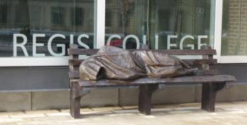 Rich People Call Cops On Statue Of Homeless Jesus (Audio)