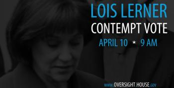 Evil Issa Holding Lois Lerner Contempt Vote Thursday