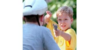 Four-Year-Old Shoots Brother, 2, In The Face