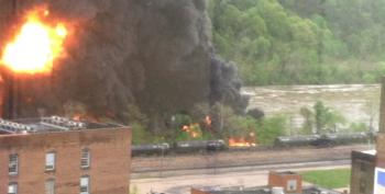 Another Train Carrying Crude Oil Derails In Lynchburg