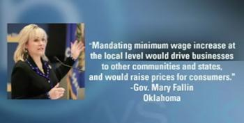 Oklahoma Governor Signs Bill Banning Mandatory Minimum Wage, Vacation & Sick Leave