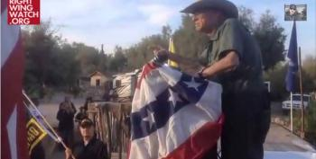 Cliven Bundy Ranch Speaker Warns Of 'Civil War,' Promises Harry Reid Will Have His 'Balls Ripped Off'