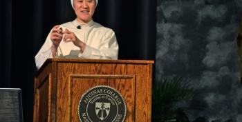 Catholic Nun To Students: 'Masturbation Makes Boys Gay And Gay Parents Abuse Their Kids'