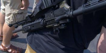 Just After Another Mass Shooting, Armed Open Carry Group In Texas Besieges Another Restaurant