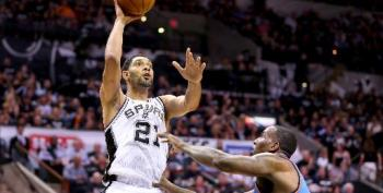 Spurs Rout Thunder In NBA Western Conference Final Series Opener