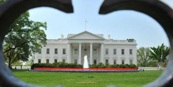 Man Strips Naked Outside White House