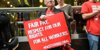 Fast-food Workers Strike In US For Pay, Union Rights