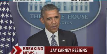 Jay Carney Steps Down As White House Press Secretary