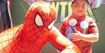 5-Year-Old Who Died Of Cancer Has Superhero Pallbearers