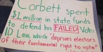 Students Protesting PA Governor Tom Corbett Face Suspension