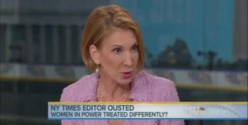 Fiorina Blames Liberals Using Women As 'Political Cudgel' For Abramson Firing