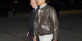 Obama Lands In Afghanistan On Surprise Visit