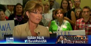 Hannity And Palin Bring Back Tired 'Death Panels' Myth To Attack Obama Over VA