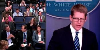 White House Reporters Want To Know Why They Can't See The Ninjas