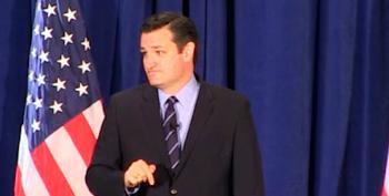 Wacko-Bird Ted Cruz Says Democrats Plan To 'Repeal First Amendment'