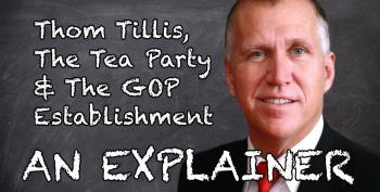 Thom Tillis, The Tea Party & The GOP Establishment: An Explainer