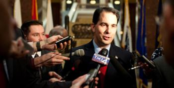 WI Gov. Scott Walker: 'God Has Told Me I'm Chosen To Cut Taxes And Stop Killing Babies'
