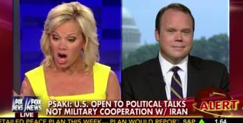 Fox News' Gretchen Carlson Flabbergasted That U.S. Might Talk To Iran
