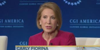 Carly Fiorina Lies At CGI: 'Raising Minimum Wage Harms Low Wage Workers'