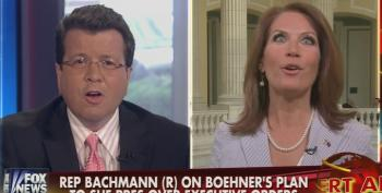 Cavuto Gets Into Shouting Match With Bachmann Over Boehner Lawsuit And Threat To Defund Executive Branch